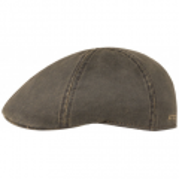 Stetson Level Gatsby Cap - Brown