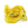 Brown Barred Magnum Rabbit Strips - Yellow