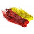 Whiting Rooster Coq de leon Predator pack - Red/Yellow