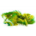 Tiger Barred Rabbit Strips - Green/ Brown over Olive