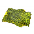 Whole Rabbit Pelts - Yellow/Chatreuse/black