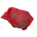 Whole Rabbit Pelts - Barred Red