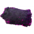 Whole Rabbit Pelts - Pink/Purple/Black
