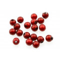 Proeye 3D Poly Beads 6mm - Red