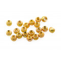 Gritty Tungsten beads - Gold Grit