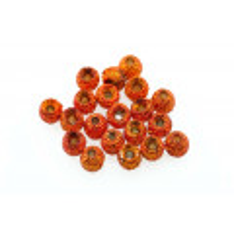 Gritty Tungsten beads - Orange Grit