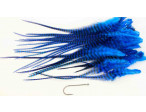 Loose Pike saddle Feathers - Grizzly Blue