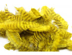 Metz Soft hackles - Grizzly Yellow