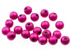 Proeye 3D Poly Beads 6mm - Hot Pink
