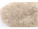 Swiss CDC Argentinian Hare Dubbing Ultra Long Hair 100% biological - colored Pale Brown 2